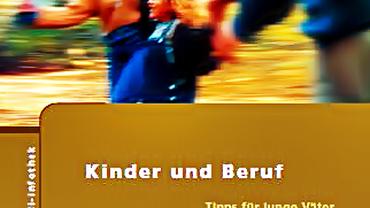 """Cover der Broschüre """"Kinder und Beruf"""""""